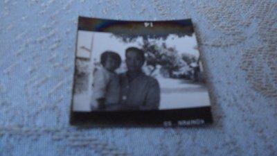 藍色小館10-4--------約50年代.迷你父與女照