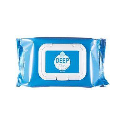 【韓Lin連線代購】韓國 A'PIEU - DEEP CLEAN CLEANSING TISSUE 深層清潔臉部卸妝巾