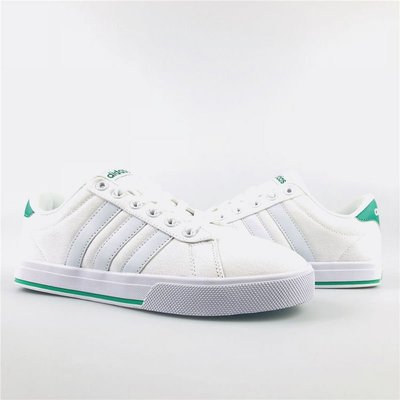 D-BOX  ADIDAS NEO GVP CVS 白綠 學院風 帆布鞋 經典 復古 愛迪達