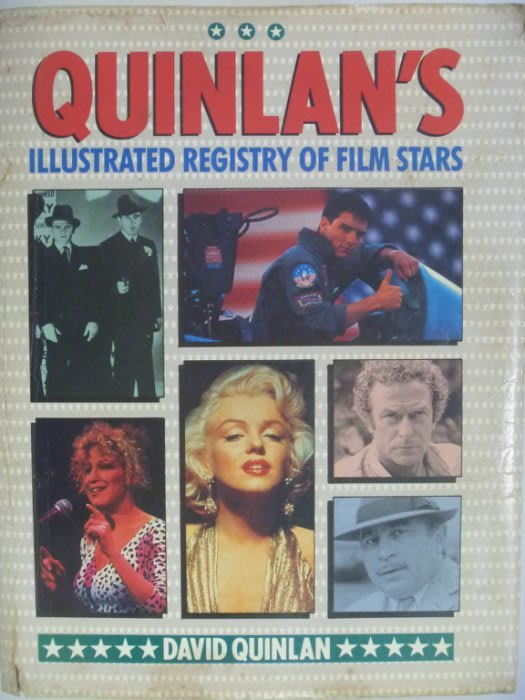 Quinlan's Illustrated Registry of Film Stars_原價1199 〖電影〗AFW