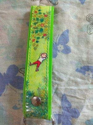 幾米繪圖皮革鑰匙圈 綠粉兩款(加購價89元)