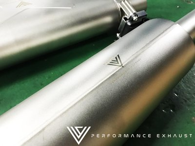 CS車宮車業 VVS 電子閥門 中尾段 排氣管 VW Tiguan 330 380 進口品質