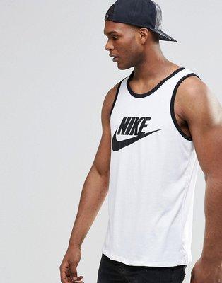 【HYDRA】Nike Ace Swoosh Logo Tank 背心 白黑 勾勾 吊嘎【779234-100】