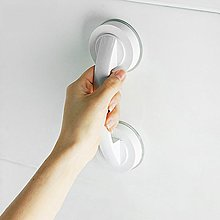 吸盤門把手玻璃櫥柜門拉手廁所浴室老人防滑扶手免打孔【藍品優品】-免運-新年優惠