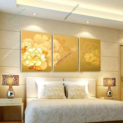【50*50cm】【厚2.5cm】黃色印象-無框畫裝飾畫版畫客廳簡約家居餐廳臥室牆壁【280101_100】(1套價格)
