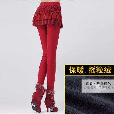 2016冬季新款修身显瘦 加绒加厚PU皮加绒女裤