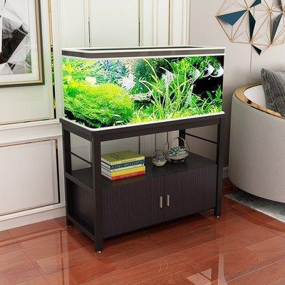 (台灣)簡易新款魚缸底柜金屬底座架不銹鋼草缸架子鐵藝置物架定做魚缸柜