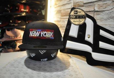 特價 New Era Branded New York Upside Down 59Fifty 紐約字體上下顛倒全封帽