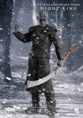 預訂 Threezero HBO GAME OF THRONES 權力遊戲 NIGHT KING 夜王 1/6 Figure