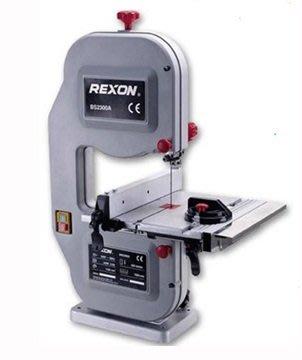 ㊣宇慶S舖㊣最新 REXON力山 新型 BS2300A 桌上型 木工 帶鋸機 切割機 非舊型 BS10