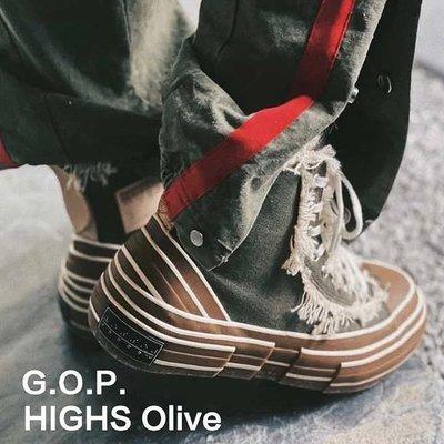 [FDOF] 預購 XVESSEL G.O.P. HIGHS OlIVE