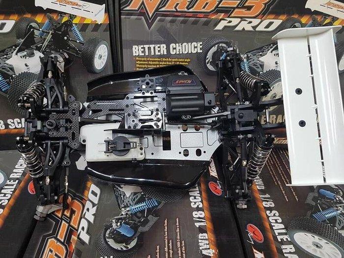 大千遙控模型  NRB3-PRO 1/8 引擎越野車 KIT 套件車