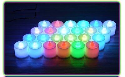 家家的店:直購品 LED蠟燭燈/電子蠟燭/婚禮小物/蠟燭LED/生日/求婚/LED燈【七彩光附電池下標區-特價品】