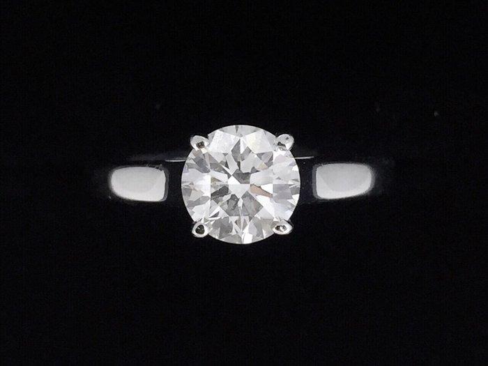 【英皇精品集團 】GIA天然美鑽石素雅款女戒  1.07ct