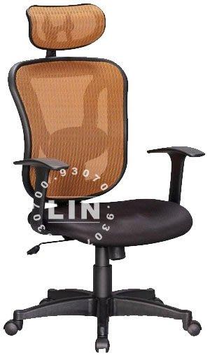 【品特優家具倉儲】R032-01辦公椅主管椅CS616A網布電腦椅