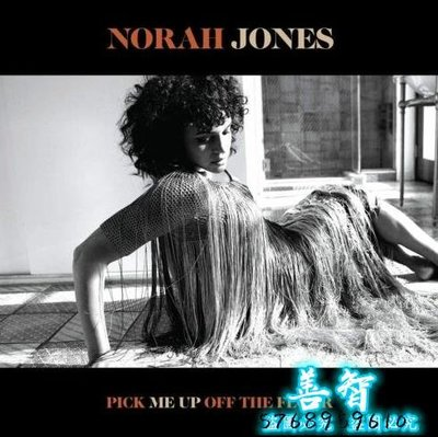 善智 CD 精選諾拉瓊斯 No##rah Jones Pick Me Up Off The Floor LP 彩膠SZ1544