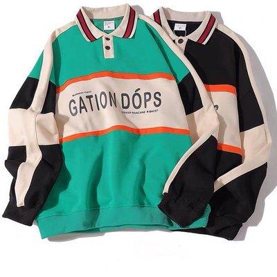 【Result】Gation Dops復古polo衫 黑/綠