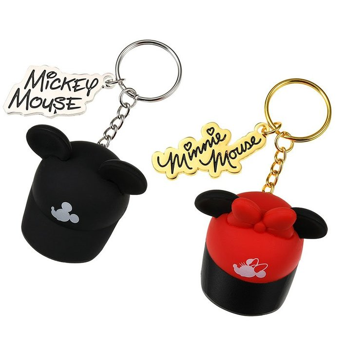 《FOS》2019新款 日本 迪士尼 米奇 米妮 鑰匙圈 吊飾 (2入組) 可愛 Disney 禮物 限量 團購 熱銷