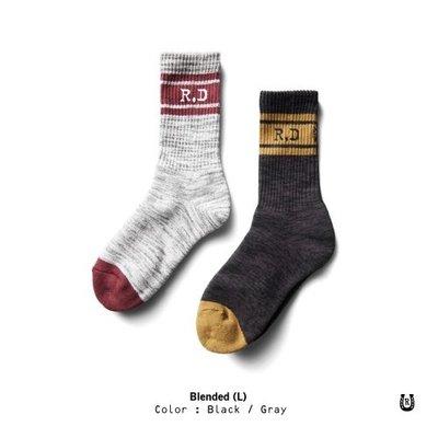 (I LOVE樂多) Retrodandy Blended Socks 麻花紋復古條紋中筒襪 共兩款可選購