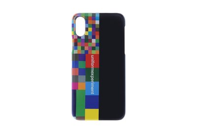 (A.B.E)uniform experiment AW19 COLOR CHART PHONE CASE for iPhone X