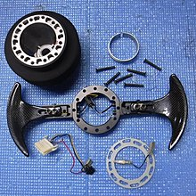 【比比昂.日本改裝 方向盤】Works Bell パドルシフター ボス等 アルテッツァ SXE10