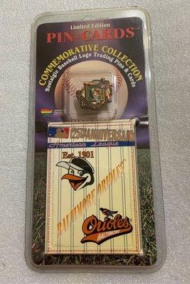 [美]MLB 美國大聯盟 1995 隊徽 徽章 BALTIMORE ORLOLES 金鷹隊 出清