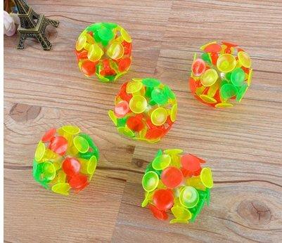 ☆天才老爸☆→吸盤球←玻璃 球 黏黏球 粘粘球 童玩 兒童 玩具 吸盤 球 玻璃 黏黏球 粘粘球 童玩 活動 團康 感統