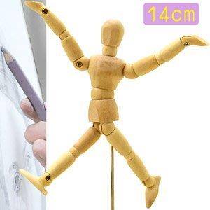 5.5吋關節可動木頭人14CM素描木製人偶14公分木偶繪畫寫真動漫畫美術用品人像攝影拍照練習設計裝飾D057-02偷拍網