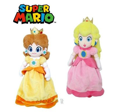 日本正版 超級瑪莉歐 瑪莉兄弟 黛西公主 碧姬公主 娃娃 玩偶 公仔玩具擺飾S 任天堂 瑪利歐 馬力歐【MOCI日貨】