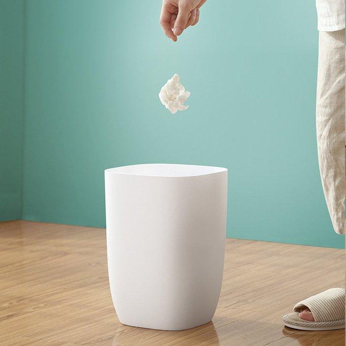 【berry_lin107營業中】簡約單層垃圾桶家用客廳塑料臥室衛生間居家創意廚房大號紙簍