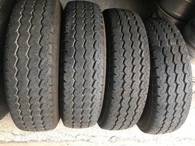 98新 瑪吉斯ue-168 185R14C 貨車胎4條 185/14