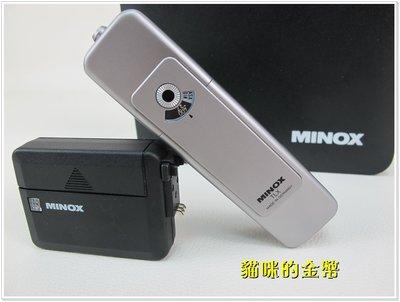 直購價 MINOX TLX 間諜相機 使用8x11mm 底片 盒裝 保存良好9.5成新│43033