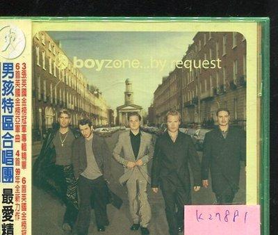 *真音樂* BOYZONE / BY REQUEST 二手 K27881