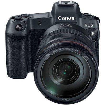 【高雄四海】Canon EOS R Kit (RF 24-105mm F4L ) 全片幅微單.全新平輸一年保固.4K錄影
