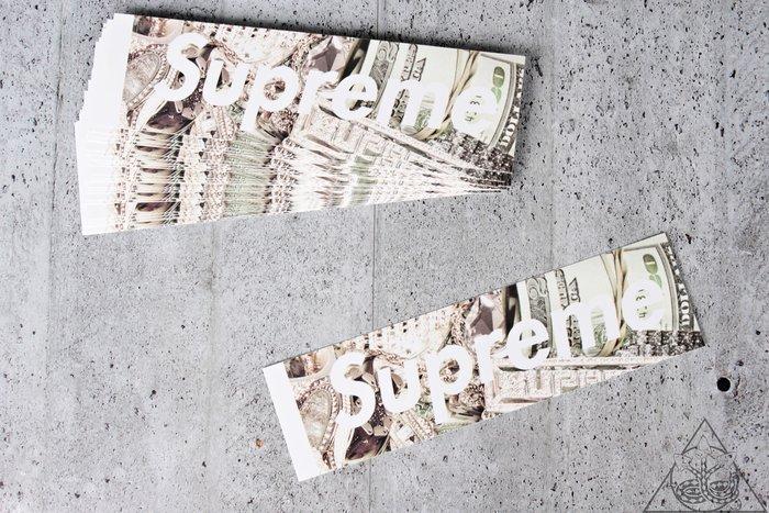 【HYDRA】Supreme Bling Box Stickers 水鑽 貼紙 【SUP436】