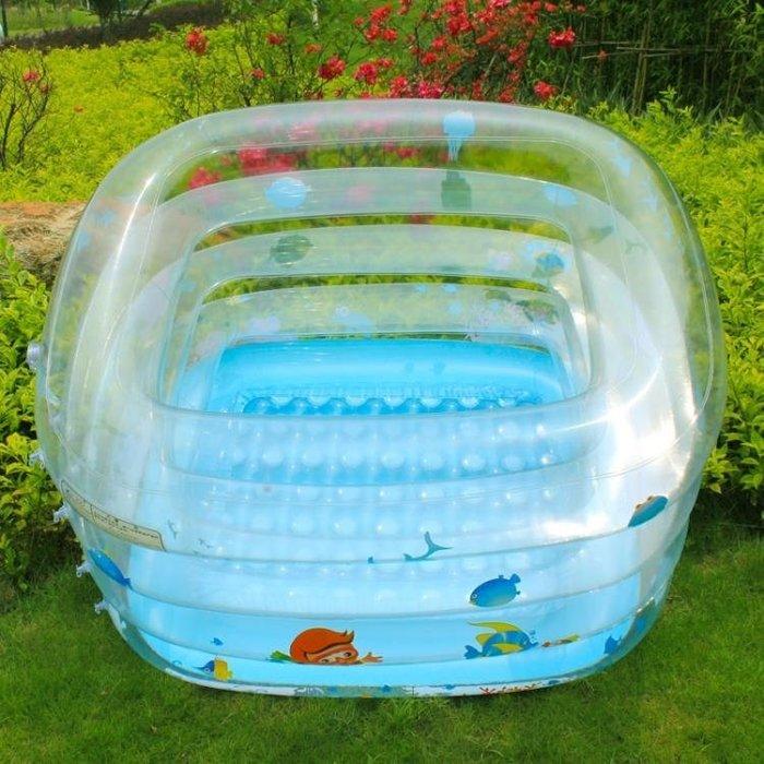 嬰兒游泳池 諾澳 嬰兒游泳池 嬰幼兒童大號寶寶游水池戲水池波波池 MKS