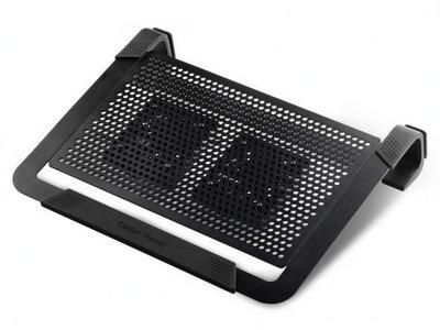 """﹝ 電腦工司 ﹞___Coolermaster 酷媽 U2 PLUS 鋁製雙風扇 筆電散熱墊 支援 17"""""""