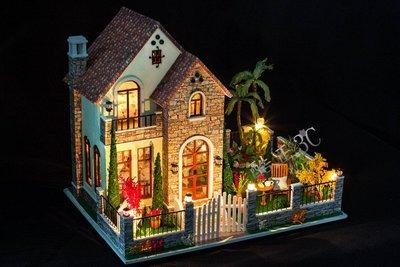 【酷正3C】DIY小屋 袖珍屋 娃娃屋 模型屋 材料包 玩具娃娃住屋 禮物 K007愛情公寓