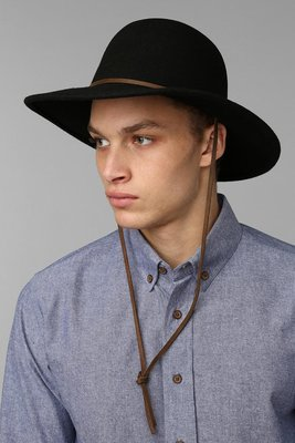(預購商品) brixton tiller 黑色 羊毛 皮革 遮陽帽 帽子
