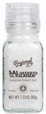 西班牙 Regional 瑞吉諾 喀拉哈里沙漠鹽 205g原價1瓶340特價1瓶289