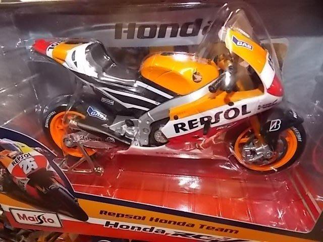 {車界模王}2014 HONDA REPSOL MOTO GP 93.26號 1:10全新模型!!!!!!!!!!