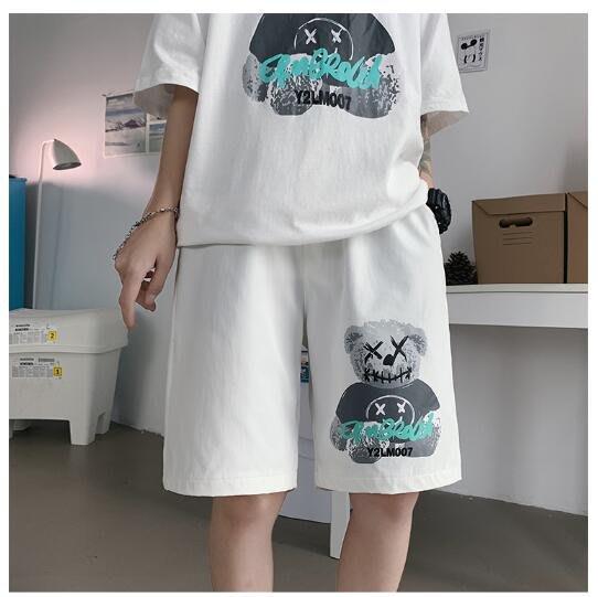 FINDSENSE X 休閒 短褲 多口袋 短褲多袋 速幹 運動男式  短褲 五分褲
