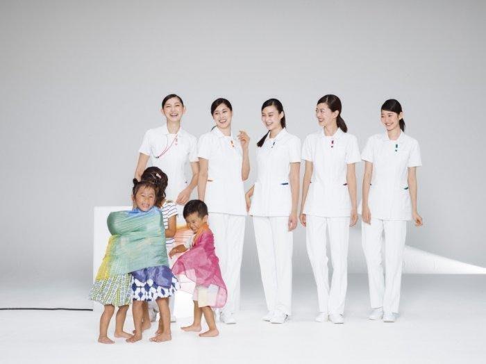 ☆°萊亞生活館 ° 進口醫護服【Nagaileben 永井 FT-4532 / 女款單上衣-白色】護士服