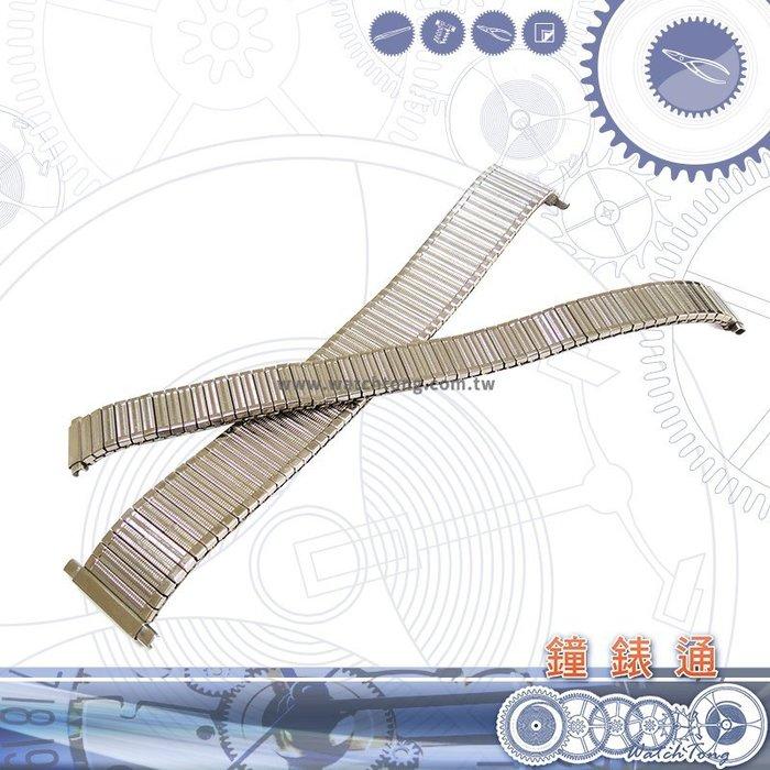 【鐘錶通】彈簧 金屬錶帶 C84S - 14 / 22 mm