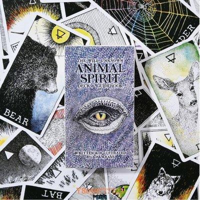 დAshion-未知野生動物靈魂神諭卡 Wild Unknown Animal Spirit Oracle卡牌