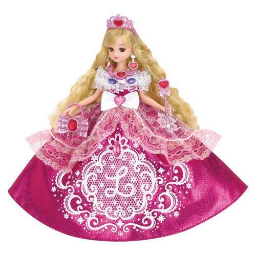 莉卡娃娃 亮粉公主莉卡_ LA 88815 原價1495元 永和小人國玩具店