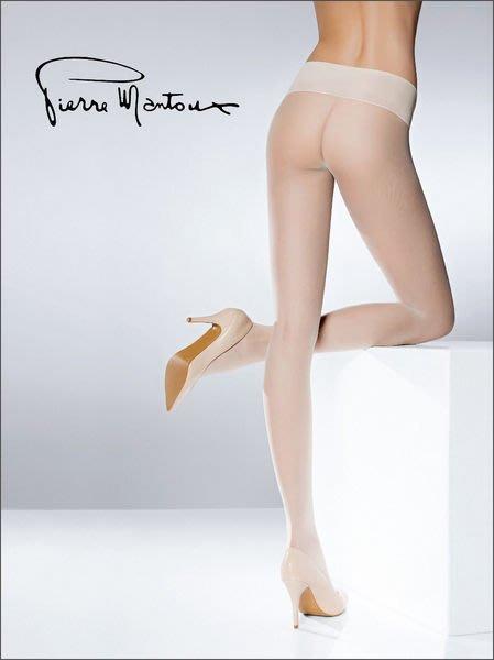 °☆就要襪☆°全新義大利頂級品牌 Pierre Mantoux PIERRE 完全無痕寬版腰帶亞光絲襪(15DEN)