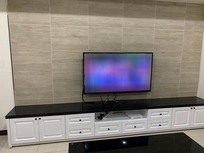 質感烤白電視櫃 置物櫃 收納櫃 皆可訂製【帷圓定制】