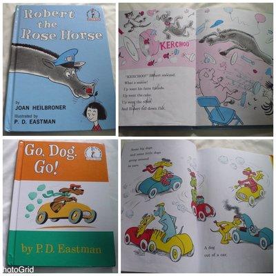 【彩虹小館】N6英文童書~Robert the Rose Horse+Go,Dog.Go!_Beginner Books
