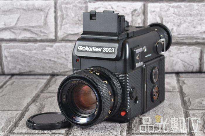 【品光數位】祿來 Rolleiflex 3003 + Planar 50MM F1.8 QBM口 #78524T